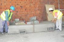 V Nároďáku v Nymburce je po více než dvaceti letech opět stavební ruch