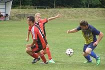 Z letního fotbalového turnaje v Sánech