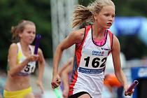 Atletické závody přilákaly devadesát dětí.