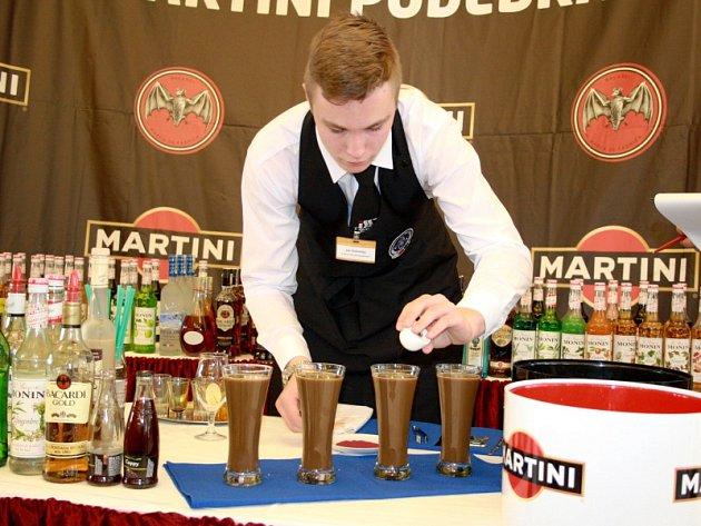Soutěž barmanů v sále Kolonády