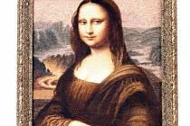 Mušličková Mona Lisa