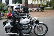 Zahájení motorkářské sezony v Poděbradech.