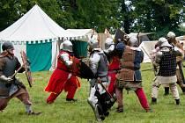 Ve Dvorech se odehrála bitva z 15. století.