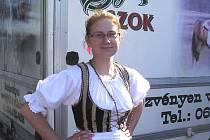 Folklórní soubor Šáteček se nedávno vrátil z Maďarska.