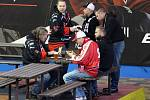 Z hokejového utkání druhé ligy Nymburk - Žďár nad Sázavou (0:1 sn)