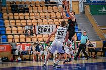 Z basketbalového utkání Kooperativa NBL Hradec Králové - Nymburk (52:102)