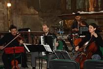 Koncert kapely Bardolino v kapli