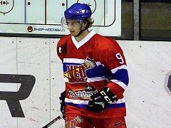 Hokejista Daniel Arnošt.