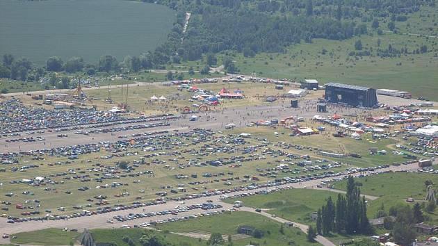 Letecké snímky Votvíráku