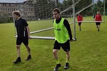 Fotbalisté Bohemie Poděbrady trénují už druhý týden