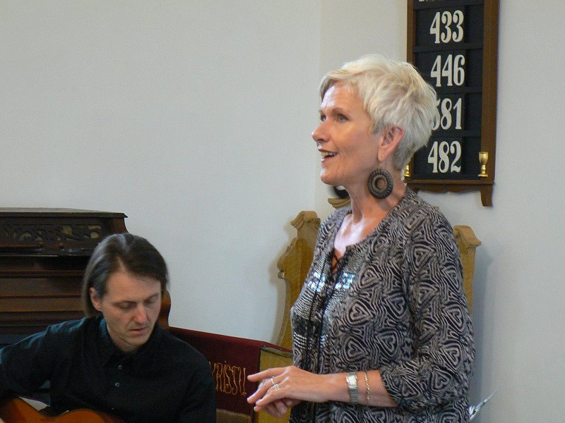 Zpěvačka Irena Budweiserová