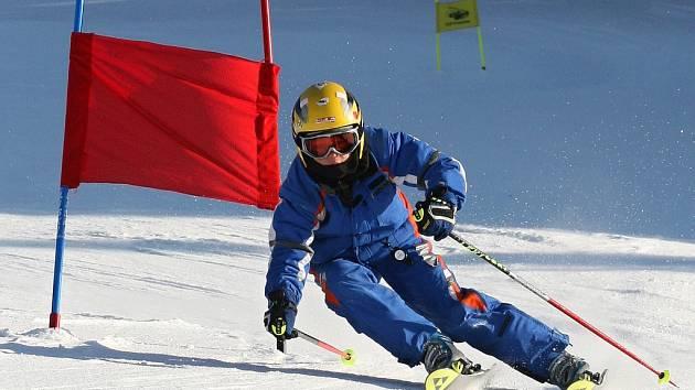 PODĚBRADSKÝ SPORTOVEC David Tomáš si jede užít olympijskou atmosféru s ostatními kolegy