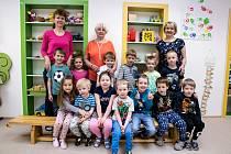 Třída Žabičky a paní učitelky Jarmila Sahařová, Iva Prudká a Romana Müllerová