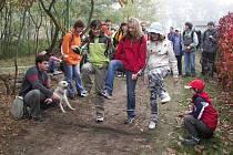 Třicátý Meridián odpochodovalo 50 účastníků. I čtyři psi a miminko