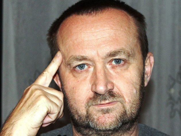Krajský šéfredaktor Deníku Jiří Macek.