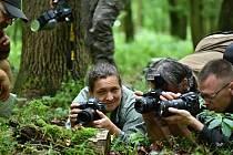 Fotografové se setkali na poděbradském Huslíku.