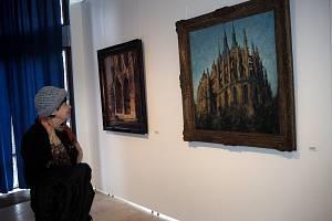 Poděbradská galerie Ludvíka Kuby otevřela novou výstavu.