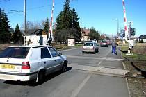 Přejezd v Koutecké ulici
