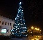 3. místo - Vánoční strom v Městci Králové