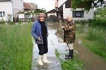 Václav a Hana Jeníkovi z Rašovic měli také vodu všude