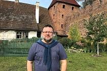 Novinář Jaroslav Kmenta.