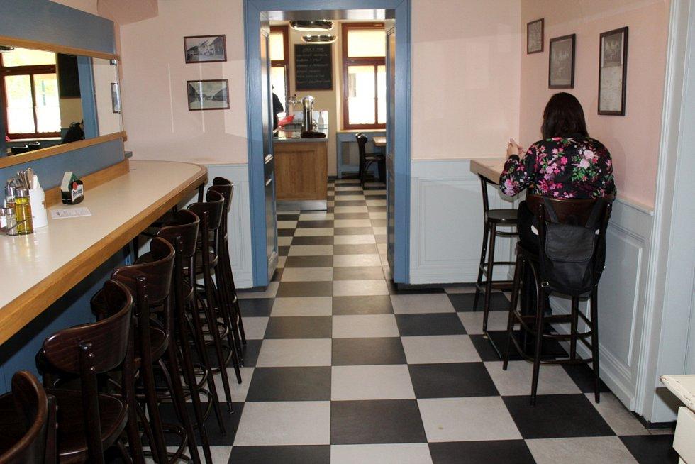 Restaurace U Gregorů v Nymburce.