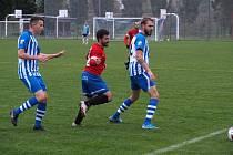 Z fotbalového utkání I.B třídy Pečky - Pátek (3:0)