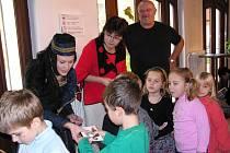 Kunhuta se vrátila do Poděbrad a rozdávala dárky i ocenění.