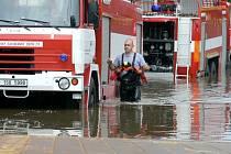 Tak to vypadalo na mnoha místech regionu při povodni 2013.