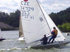 Na poděbradském Jezeře se konal Letní závod mládeže v jachtingu.