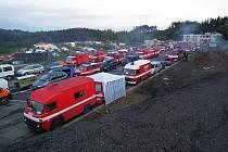 Překonání hasičského světového rekordu na Moravě