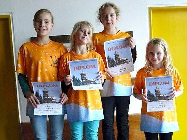 ZASE ZÁŘILI. Plavci SKP Nymburk zaznamenali další úspěchy. Tentokrát se jim dařilo v Náchodě