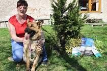 Dvouletá fenka německého ovčáka Rita z Hradčan skončila v anketě Psí miláček Deníku na druhém místě.