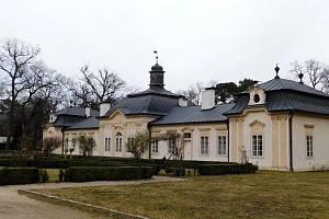 Nový zámek po celkové rekonstrukci.