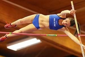 Atletka Viktoria Ondrová z Poděbrad