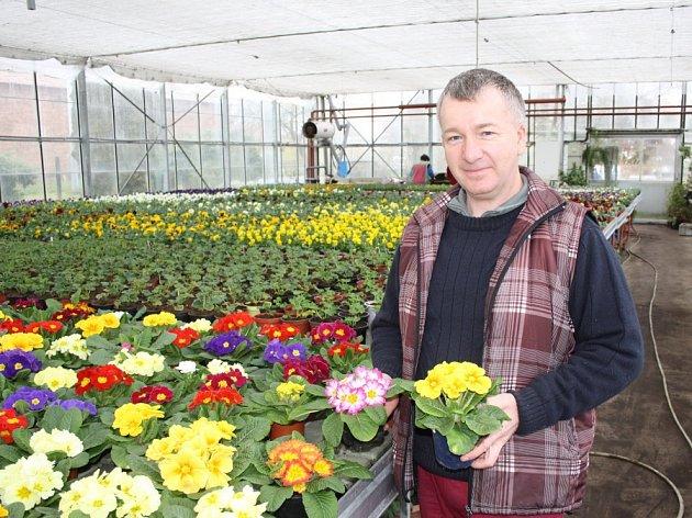 zahradník Luděk Brzák radil, co už se dá na zahrádce dělat.