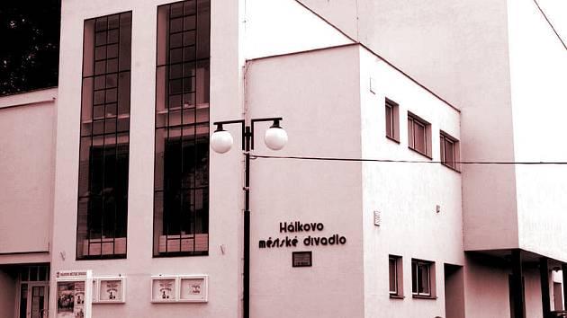 Hálkovo městské divadlo.