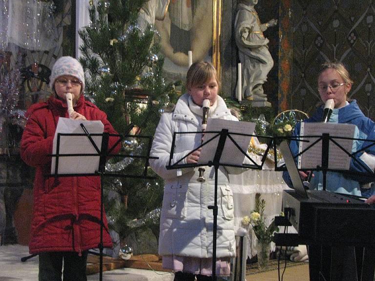 Tříkrálový koncert v kostele sv. Kateřiny v Milovicích