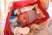 ADAM ROUSEK se narodil 19. února 2018 ve 21.39 hodin s výškou 50 cm a váhou 3 020 g. Z druhého potomka se radují rodiče Tereza a Pavel z Loučeně a také dvouletá sestra Adélka.