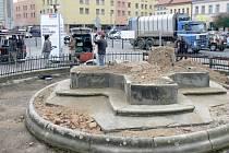 Nymburské náměstí bez dominanty
