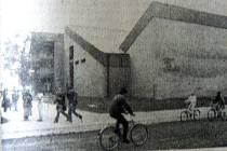 Pohled na kulturní dům z Tyršovy ulice před 25 lety