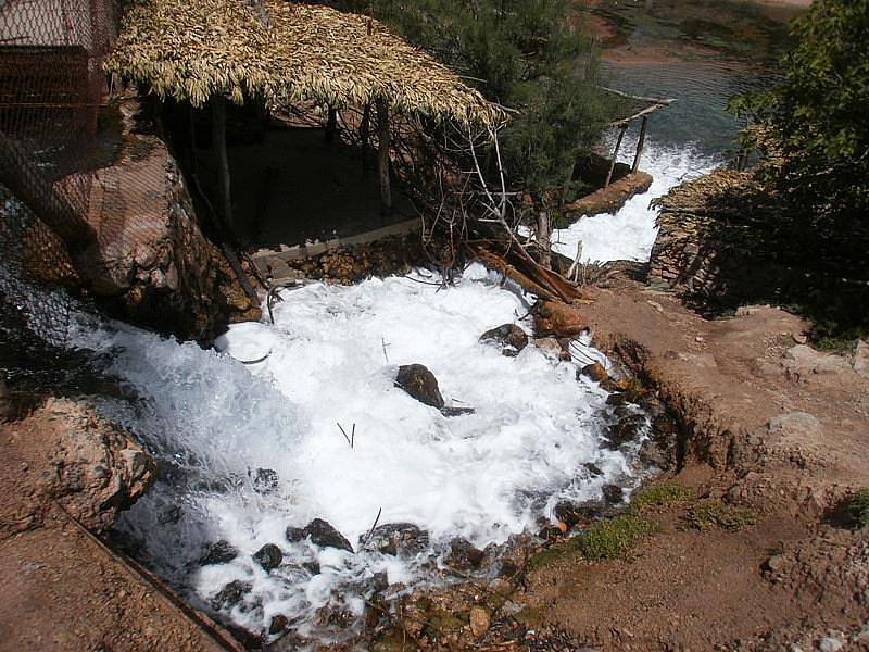 Prameny řeky Rbia.
