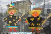 Libické čarodějnice z dílny dětí obsadily místní obchod.