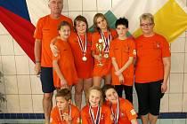 Úspěšní plavci SKP Nymburk na pohárech v Plzni
