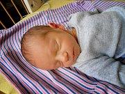 FILIP GREGAR se narodil 29. prosince 2018 s délkou 48 cm a váhou 2 810g. S maminkou Martinou a tatínkem Martinem bude chlapeček bydlet v Lysé nad Labem.