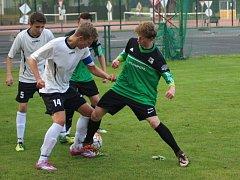 Fotbaloví dorostenci Nymburka dlouho vedli, nakonec s Ústím nad Orlicí těsně 1:2 prohráli