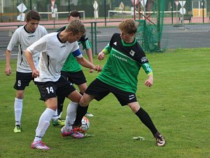 Fotbal - divize starší dorost: Polaban Nymburk - Ústí nad Orlicí (1:2)