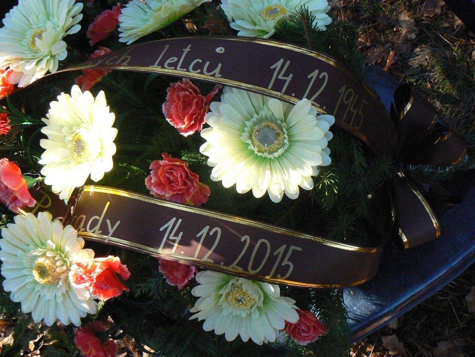 V pondělí uplynulo 70 let od zřícení letadla u Přední Lhoty