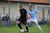 Z fotbalového utkání I.B třídy Kouřim - Libice nad Cidlinou (2:5)