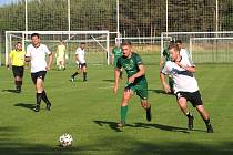 Z fotbalového utkání turnaje Šátek Labe cup Semice - Milovice (5:1)